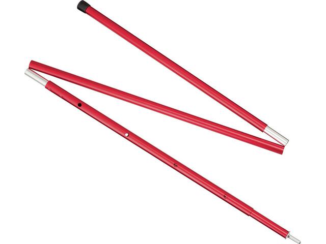 MSR Adjustable Pole 4 FT 119-140 cm Red